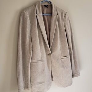 Machine washable easy-fitting casual blazer